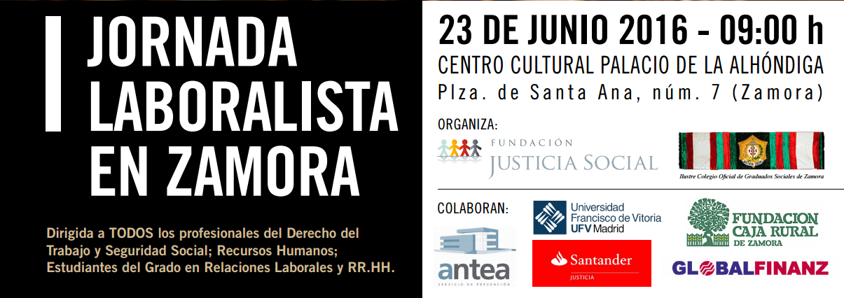 I Jornada Laboralista en Zamora